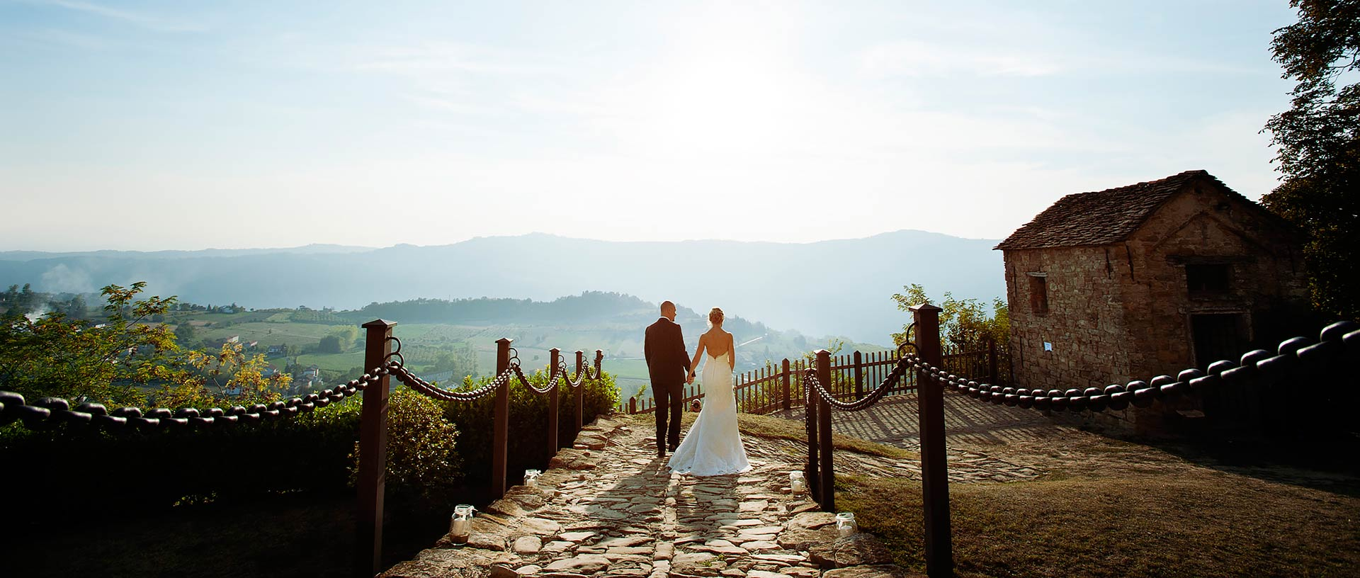Eloping in Italian Countryside