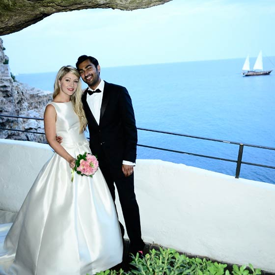 Anna & Rahul elope in apulia