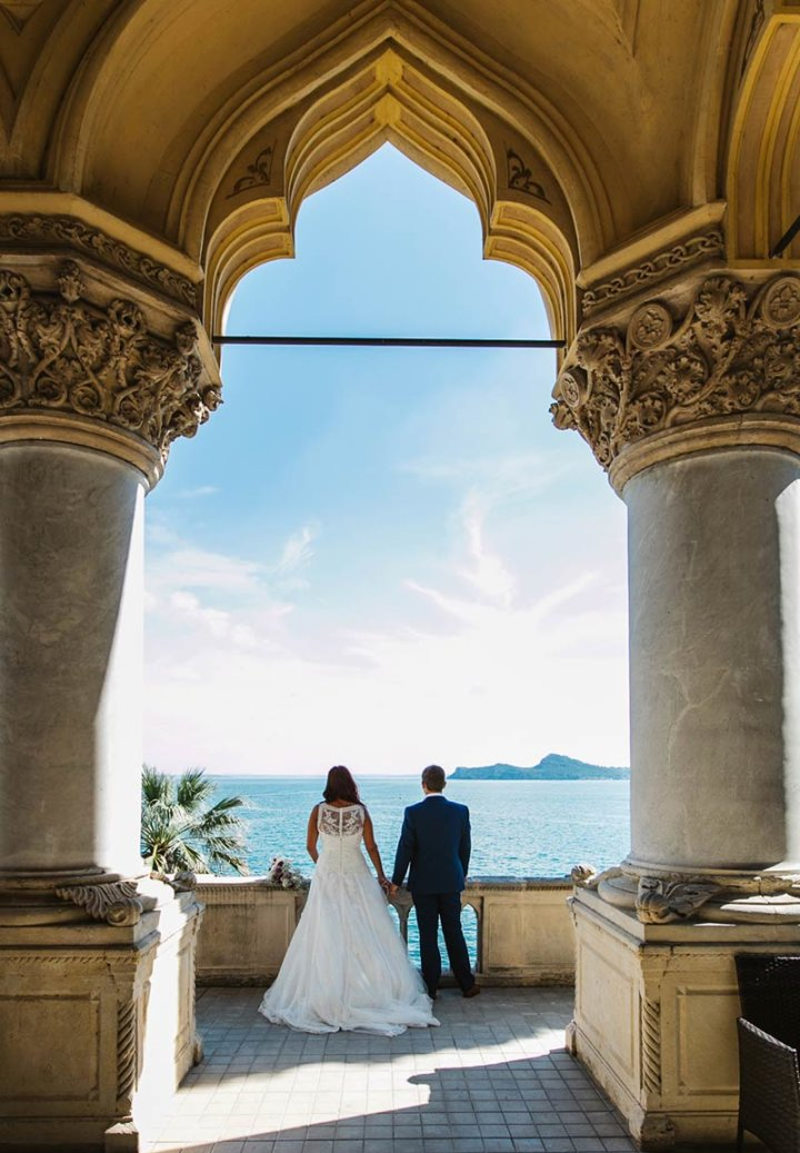Chantel & Stephen elope on lake garda