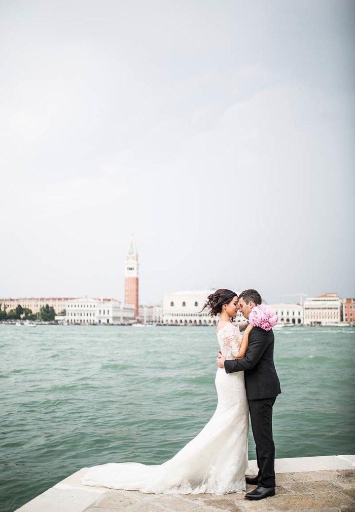 Dinara & Marco elope in venice