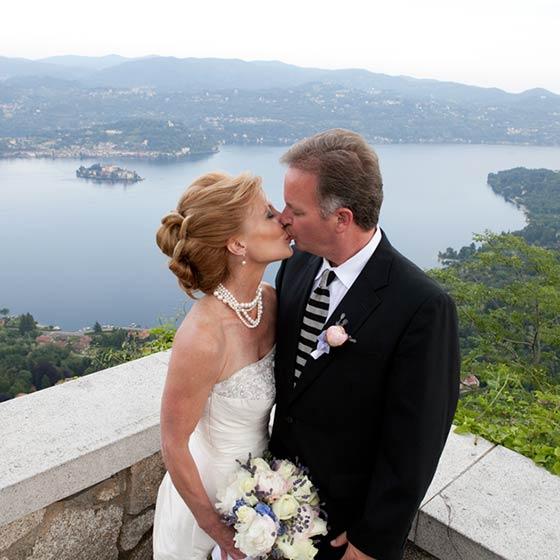 Donna & Mark lake orta elope