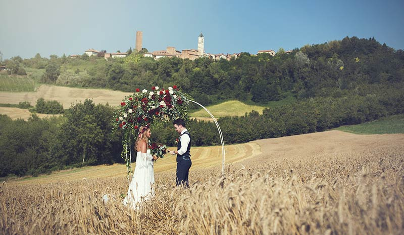 Elope in Monferrato Italian Countryside