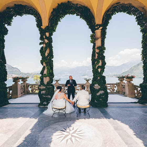 Tara & William lake Como elope