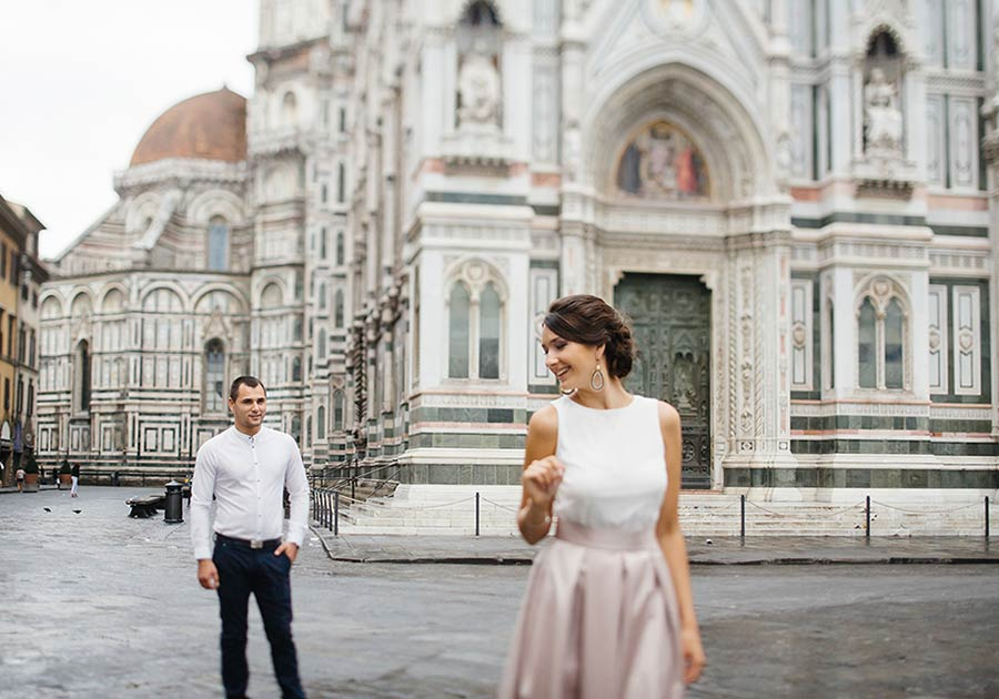 elope in Florence Tuscany